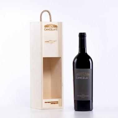 Vinho Tinto 2018 c/Caixa madeira