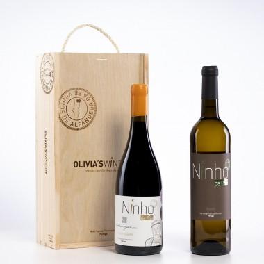 Pack 2 garrafas c/Caixa (Grande Reserva 2018 + Branco 2019)