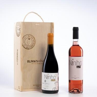 Pack 2 garrafas c/Caixa (Grande Reserva 2018 + Rosé 2019)